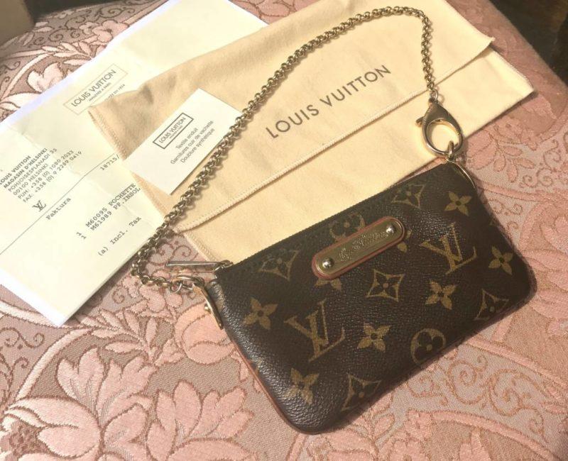 Vuitton Käsilaukku : K?silaukku clutch antiikkiliike wanha elias